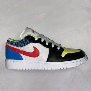 Nike Air Jordan 1 Low GS Funky Pattern 4.5Y 6W
